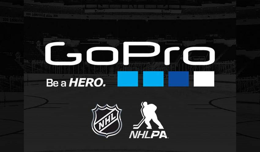 NHL AND NHLPA PARTNER WITH GOPRO