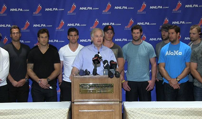 NHLPA Executive Board Meetings in Chicago