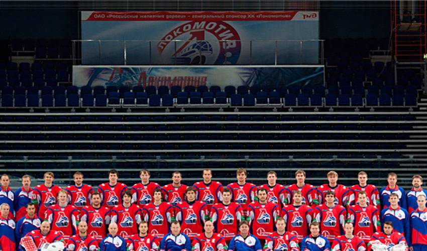 Russian hockey team members die in plane crash