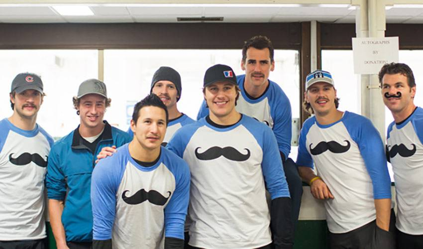 Players Hit the Ice – Curling for Movember