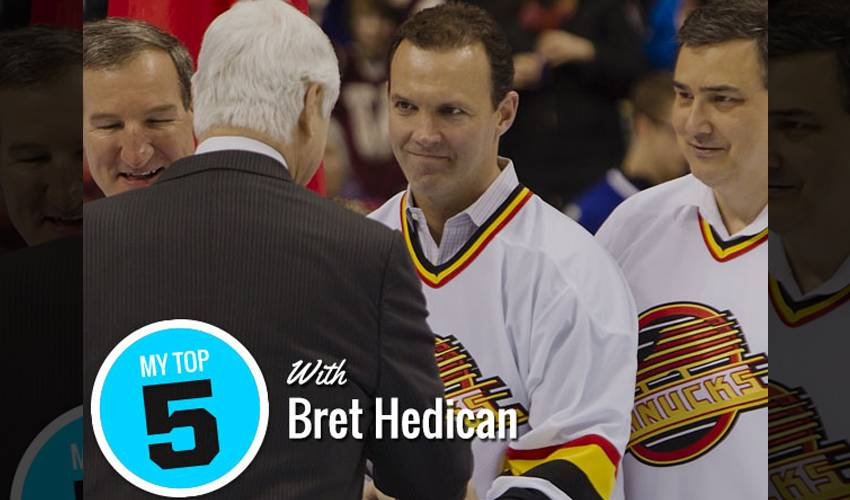 My Top 5 | Bret Hedican