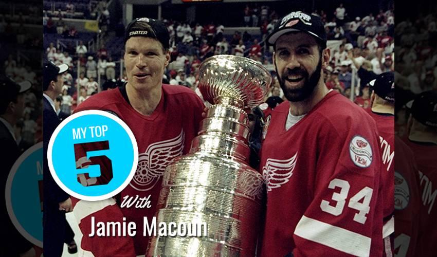 My Top 5 | Jamie Macoun