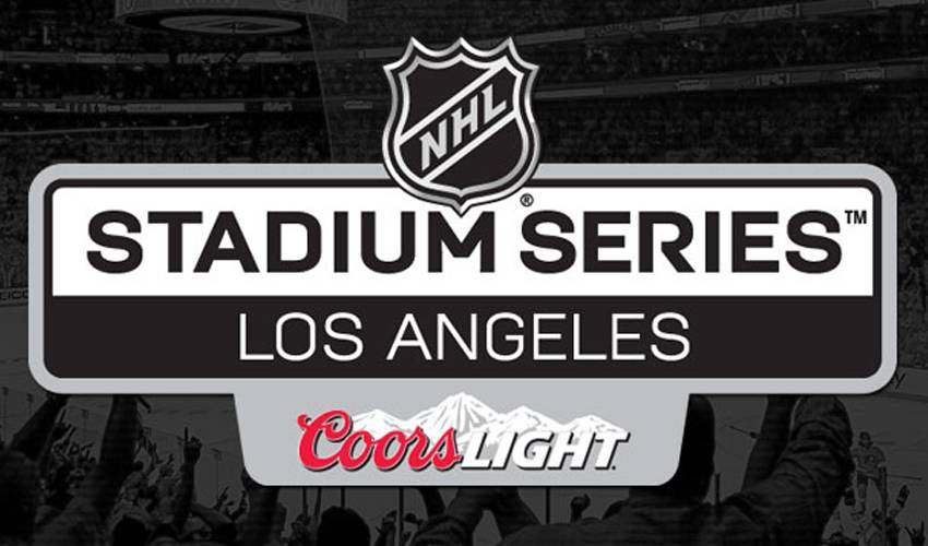 NATIONAL HOCKEY LEAGUE BRINGING OUTDOOR HOCKEY TO SOUTHERN CALIFORNIA