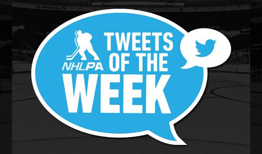 Player Tweets of the Week: The Start of the 2014-15 NHL Season