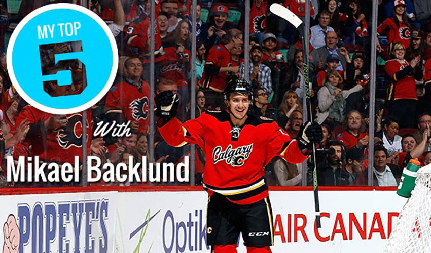 My Top 5 | Mikael Backlund
