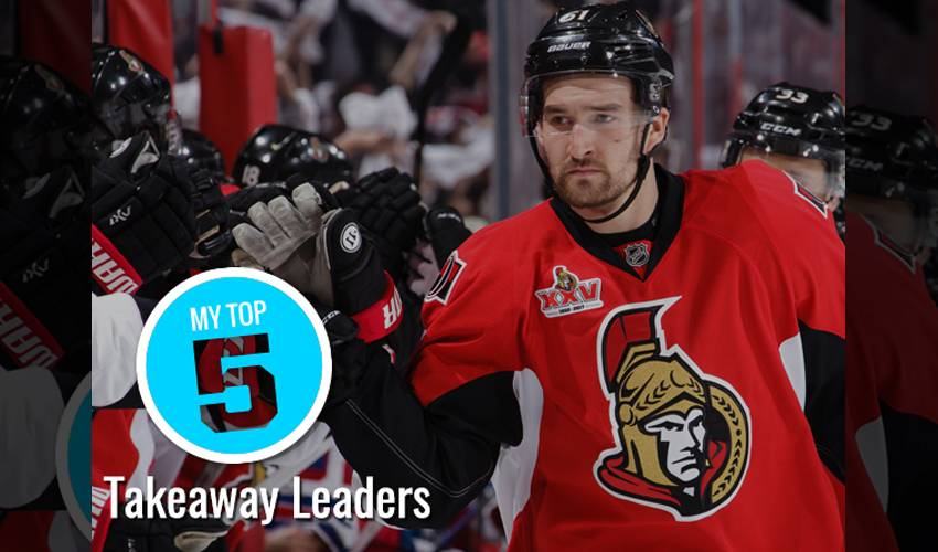 My Top 5 | Takeaway leaders