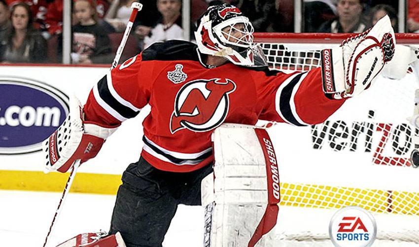Brodeur The Cover Athlete For EA's NHL14