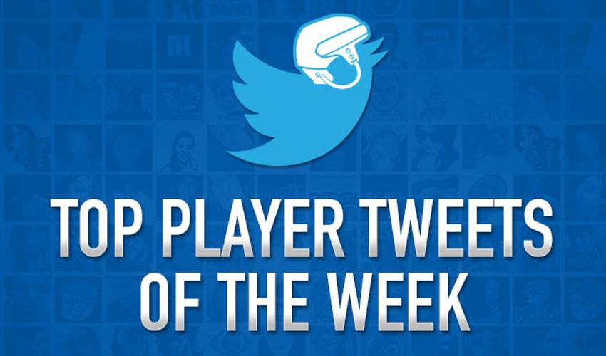 Top Player Tweets of the Week: November 5th - November 12th