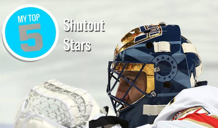 My Top 5 | Shutout Stars