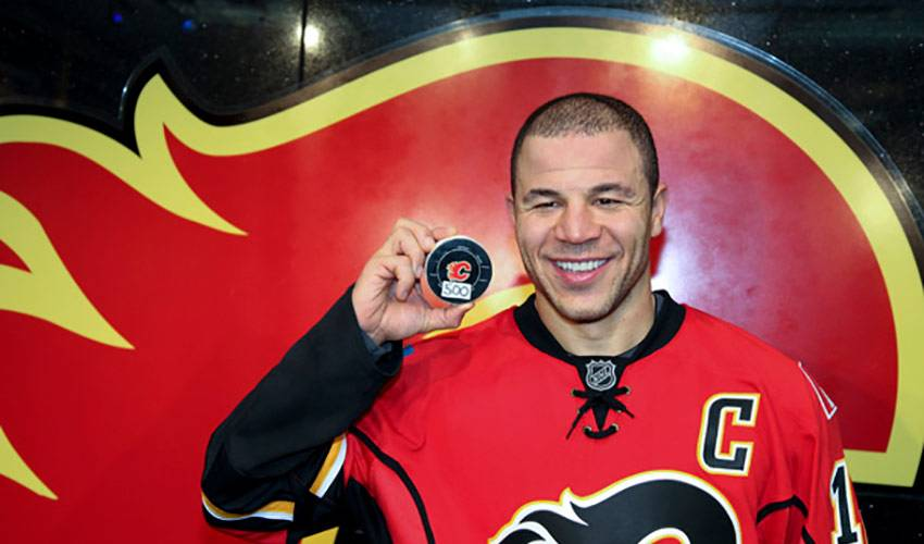 500 Reasons To Smile for Iginla