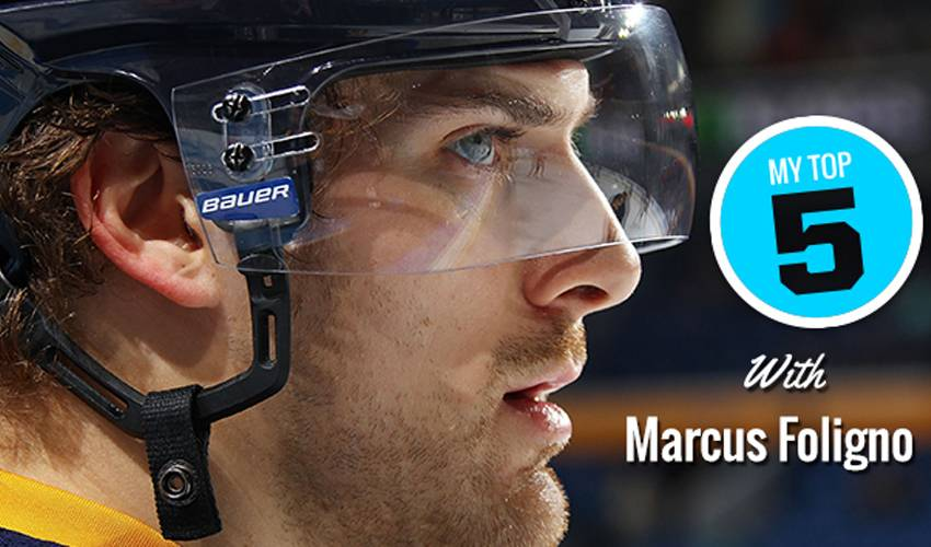 My Top 5 | Marcus Foligno