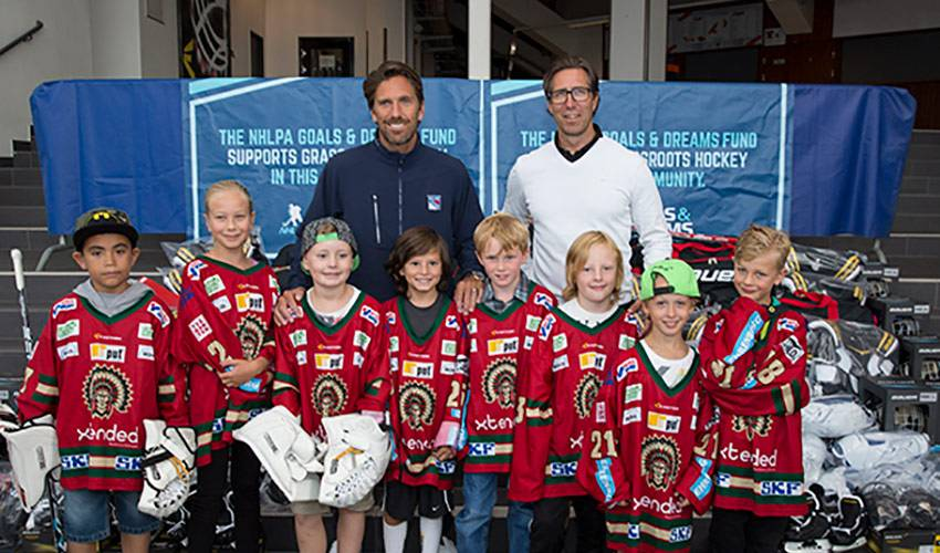 Henrik Lundqvist donation hits home with help of NHLPA G&D