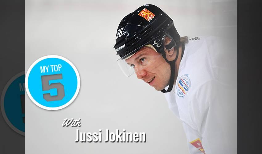 My Top 5 | Jussi Jokinen