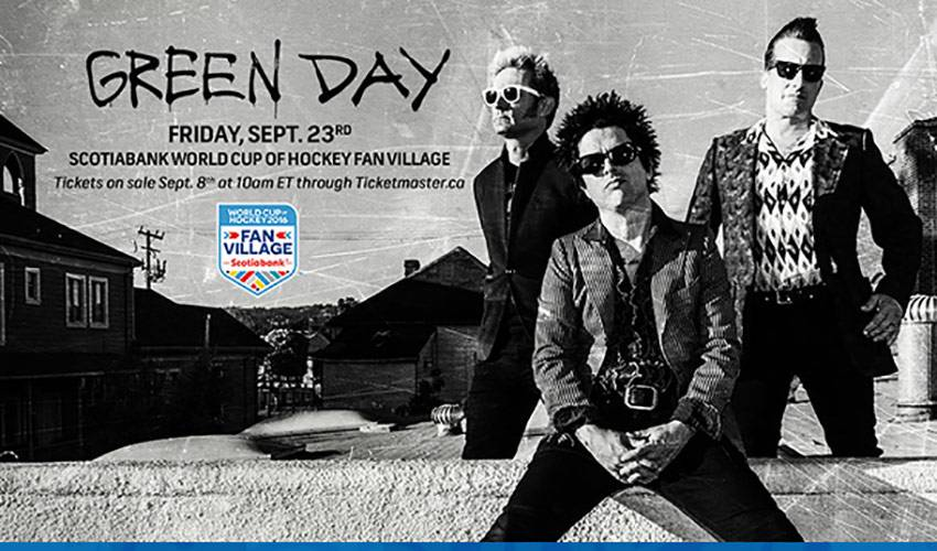 Grammy Award Winning Rock Band Green Day To Headline Celebration Of