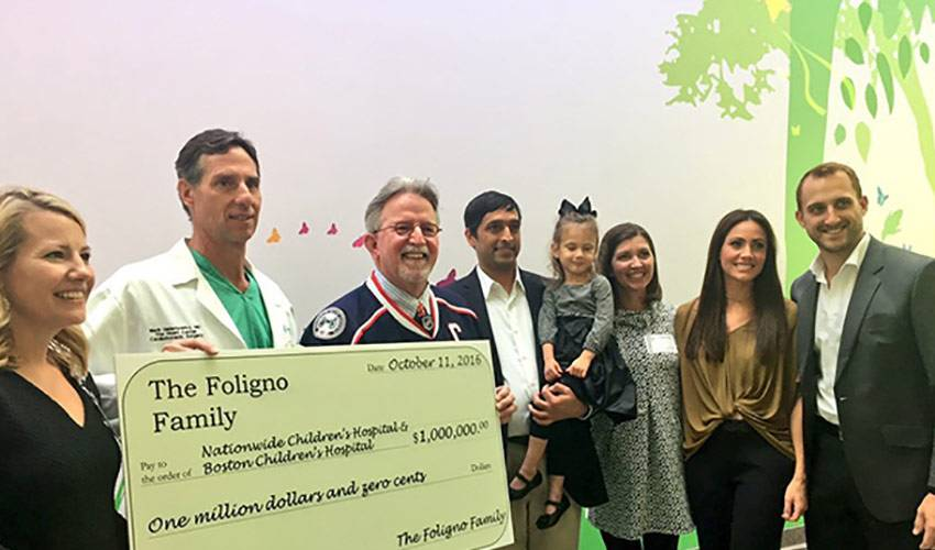 The Foligno Family's million dollar difference-maker